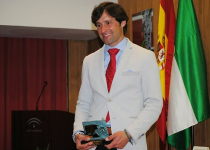 Andrés Romero, mejor rejoneador de 2014 en la provincia de Huelva