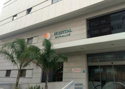 Andrés Romero, intervenido con éxito del tabique nasal en Huelva