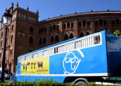 Andrés Romero promociona Territorio Toro a lo largo de 17.000 kilómetros entre España y Francia