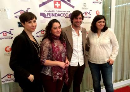 Andrés Romero colabora con el I Almuerzo Benéfico de Fundacec