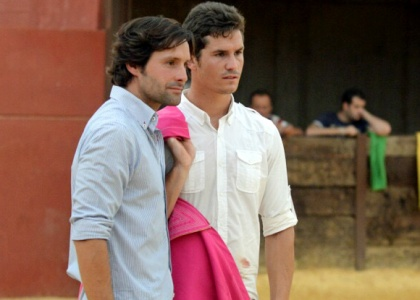 Romero y Luque, encuentro de toreros antes de Aracena