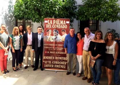 Andrés Romero toreará en La Palma del Condado el 12 de septiembre