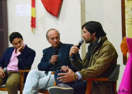 Andrés Romero regresa a Nerva para hablar de toros antes de Sevilla