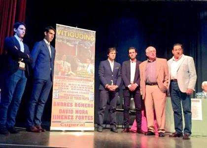 Andrés Romero toreará en Vitigudino el 16 de agosto con Mora y Fortes