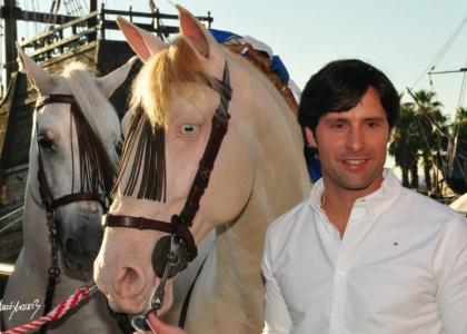 Andrés Romero presentará su cuadra en la Plaza de las Monjas de Huelva