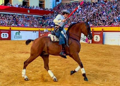 Andrés Romero, triunfador de la Setmana de Bous de Algemesí
