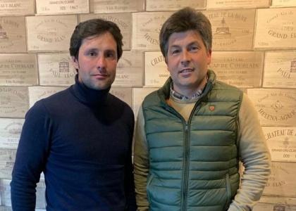 José Montes, nuevo apoderado de Andrés Romero junto a Antonio Nunes, su representante en Portugal